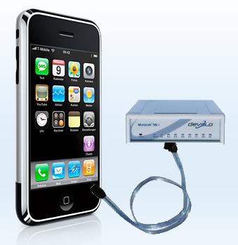 iPhone fast als 56K Modem nutzen